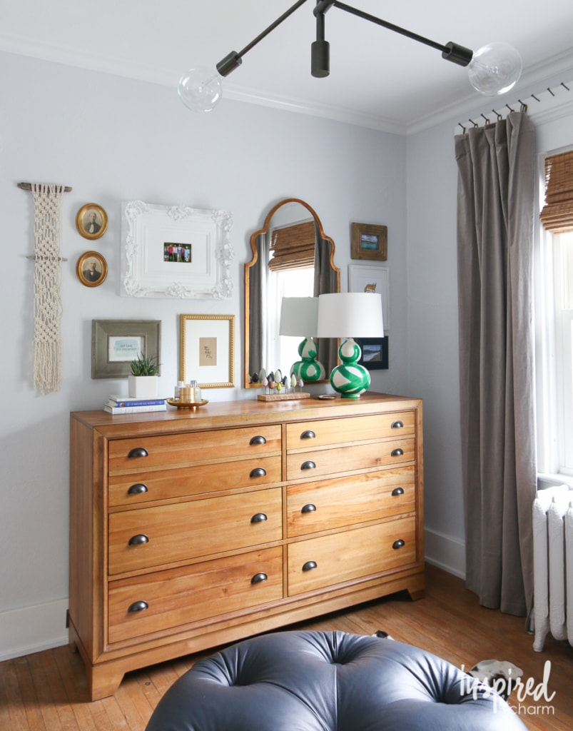 Bedroom Gallery Wall | Inspired by Charm