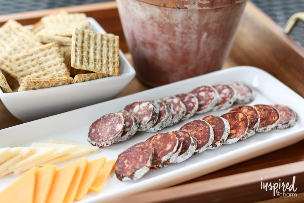 Sangria and Snacks   Inspired by Charm