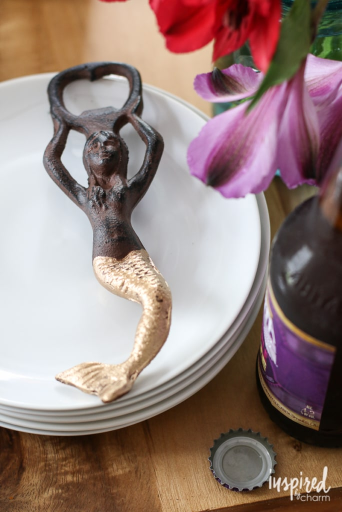DIY Mermaid Bottle Opener | Inspired by Charm