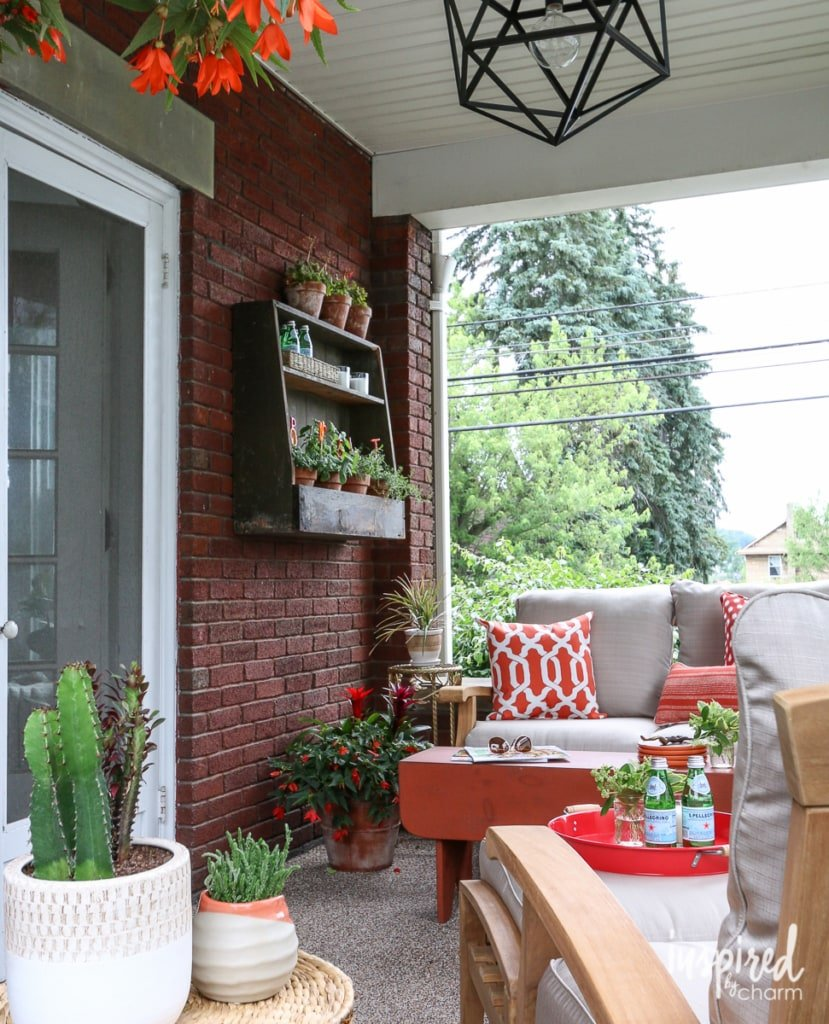 Progress on the Porch | Inspired by Charm