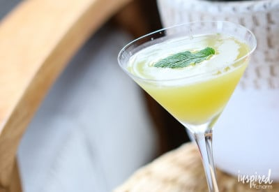 Spicy Chiptole Pineapple Martini | Inspired by Charm