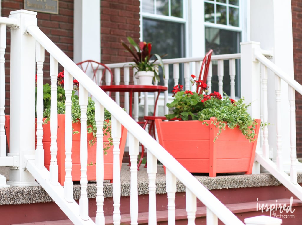 Painting on Curb Appeal | Inspired by Charm