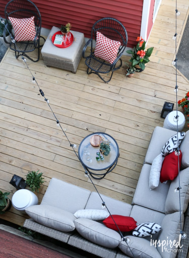 Deck Decorating | Inspired by Charm