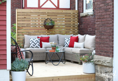 Outdoor Decorating | Inspired by Charm