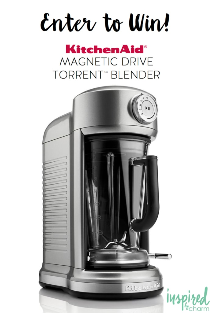 KitchenAid Blender Giveaway | Inspired by Charm