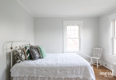 The Bedroom is Painted | Inspired by Charm