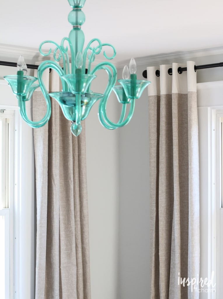 Guest Bedroom Curtains | inspiredbycharm.com