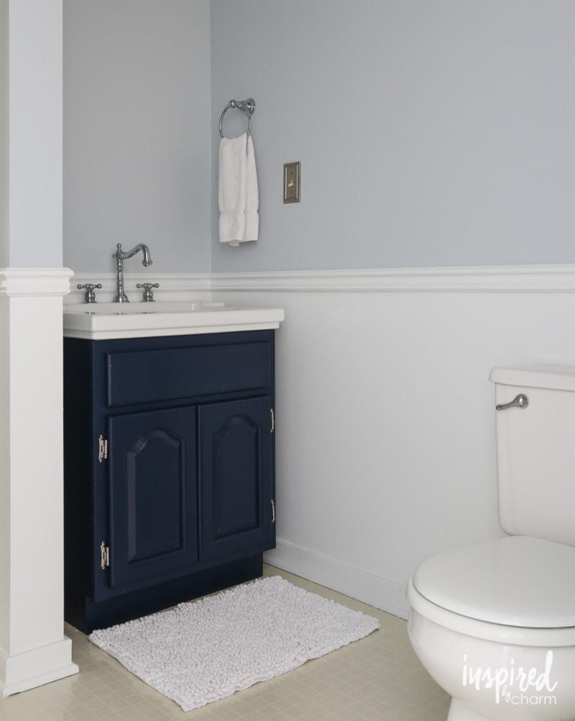 Bathroom Bling | inspiredbycharm.com