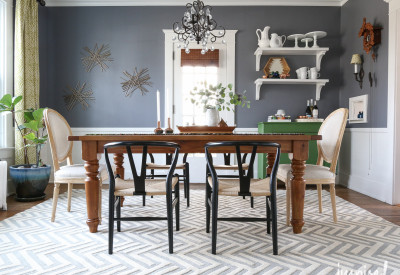 Dining Room Rug | inspiredbycharm.com