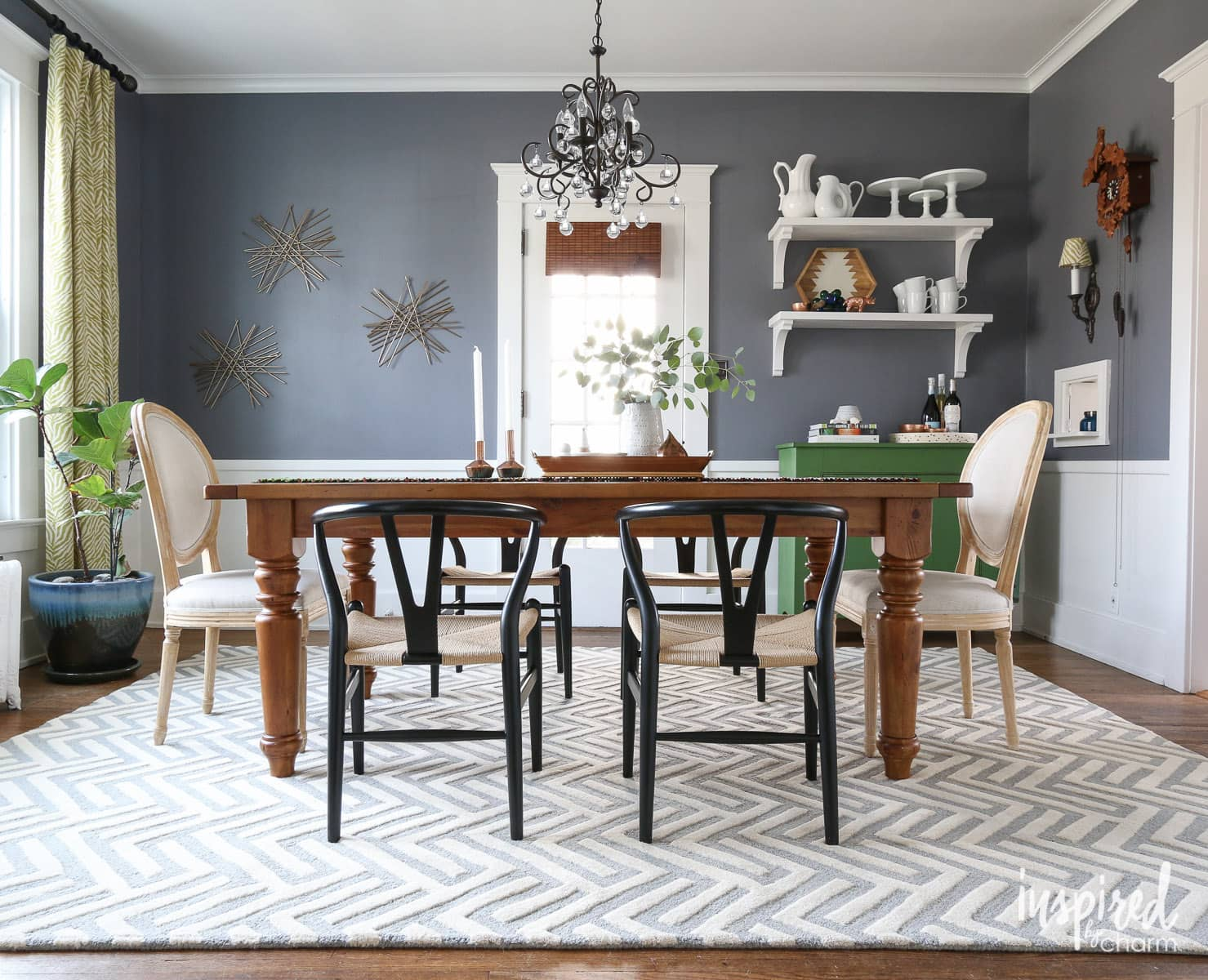 Beau Dining Room Rug | Inspiredbycharm.com