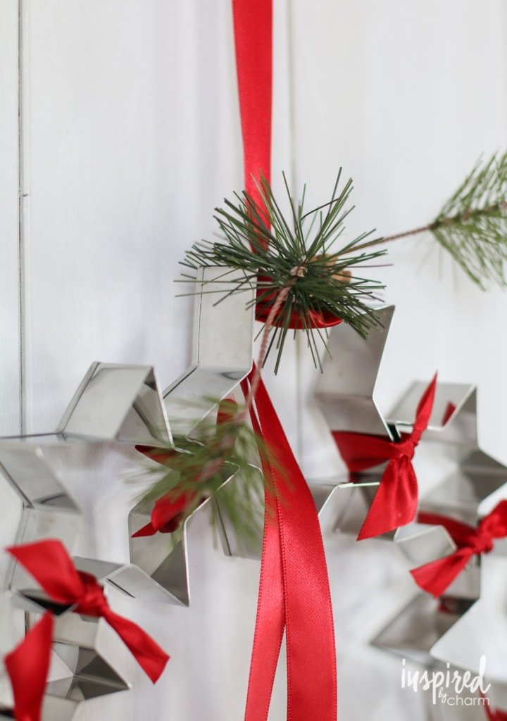 Star Cookie Cutter Wreath