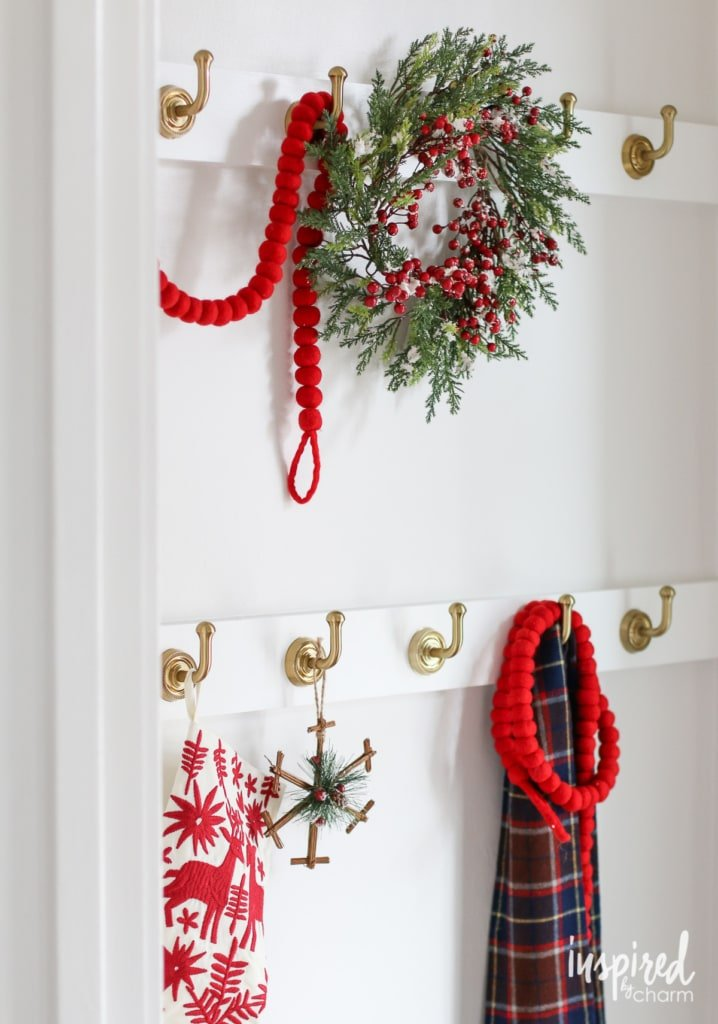 Holiday Home Tour | inspiredbycharm.com #IBCholiday