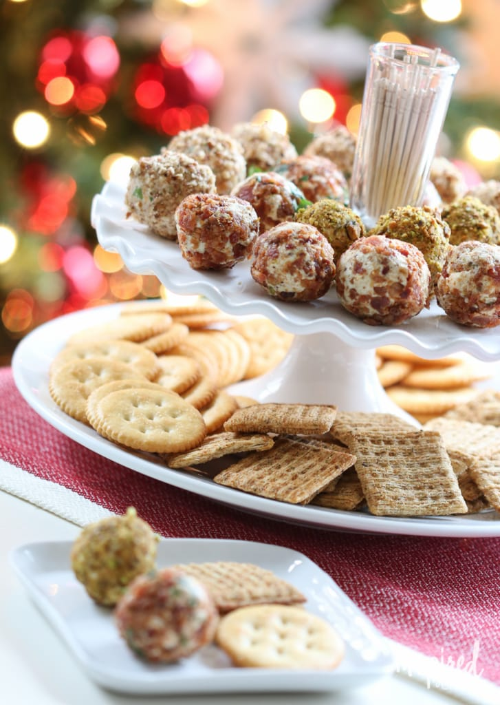 Cheese Truffles // Holiday Bacon-Inspired Appetizers | inspiredbycharm.com