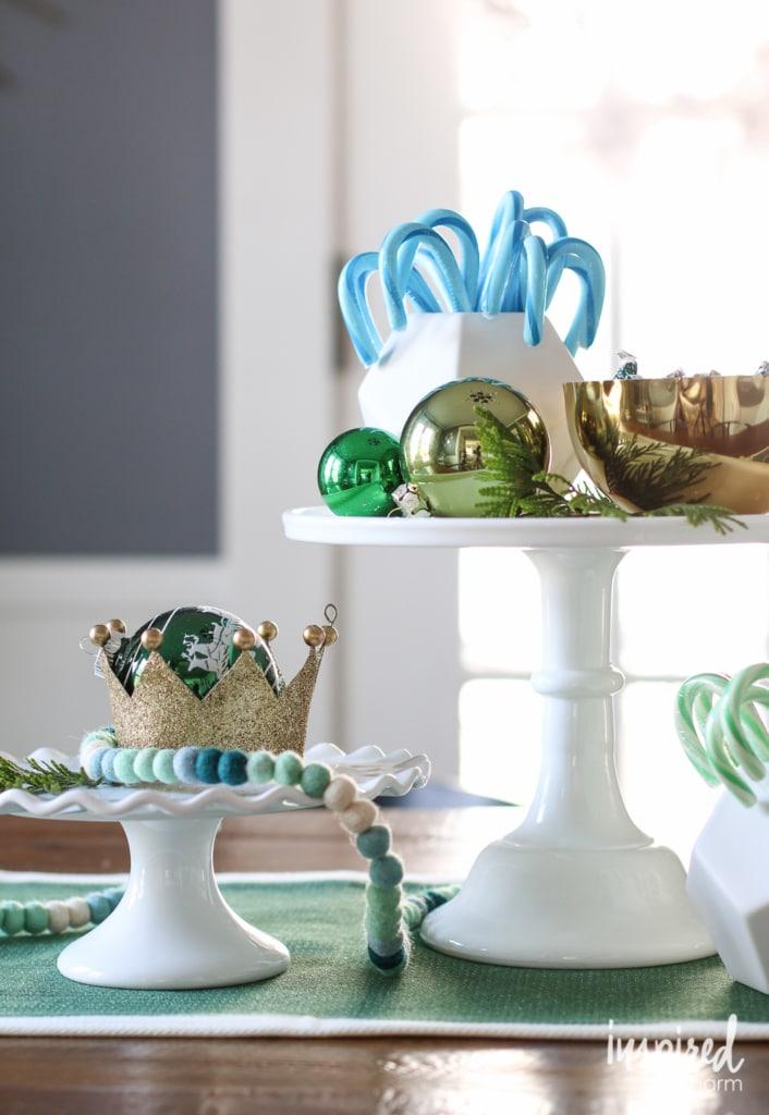Holiday Centerpiece Ideas   inspiredbycharm.com #IBCholiday
