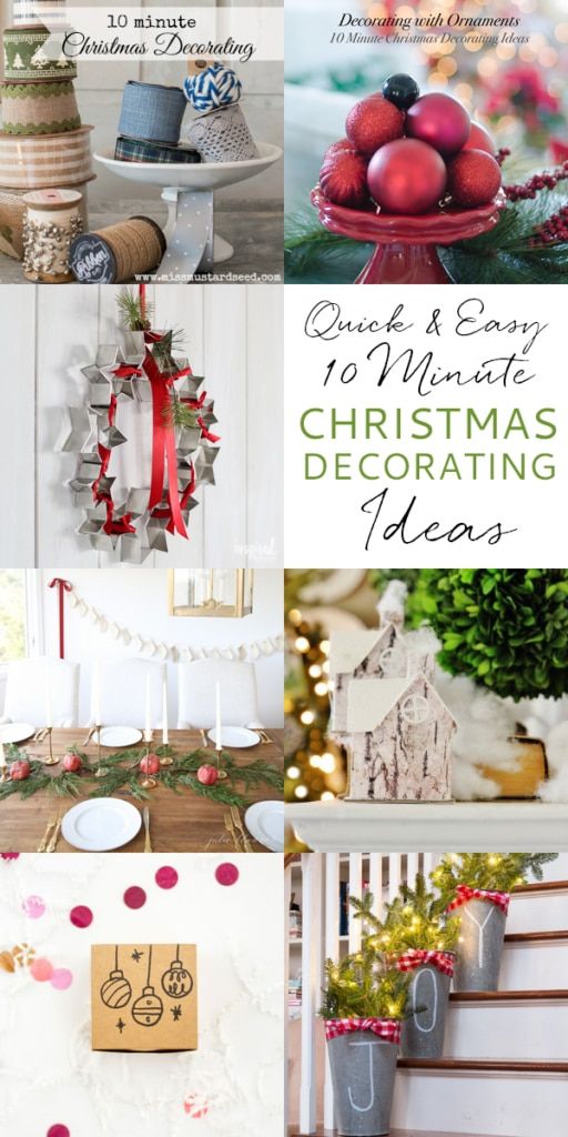 10 Minute Ideas - DIY Cookie Cutter Wreath | inspiredbycharm.com #IBCholiday