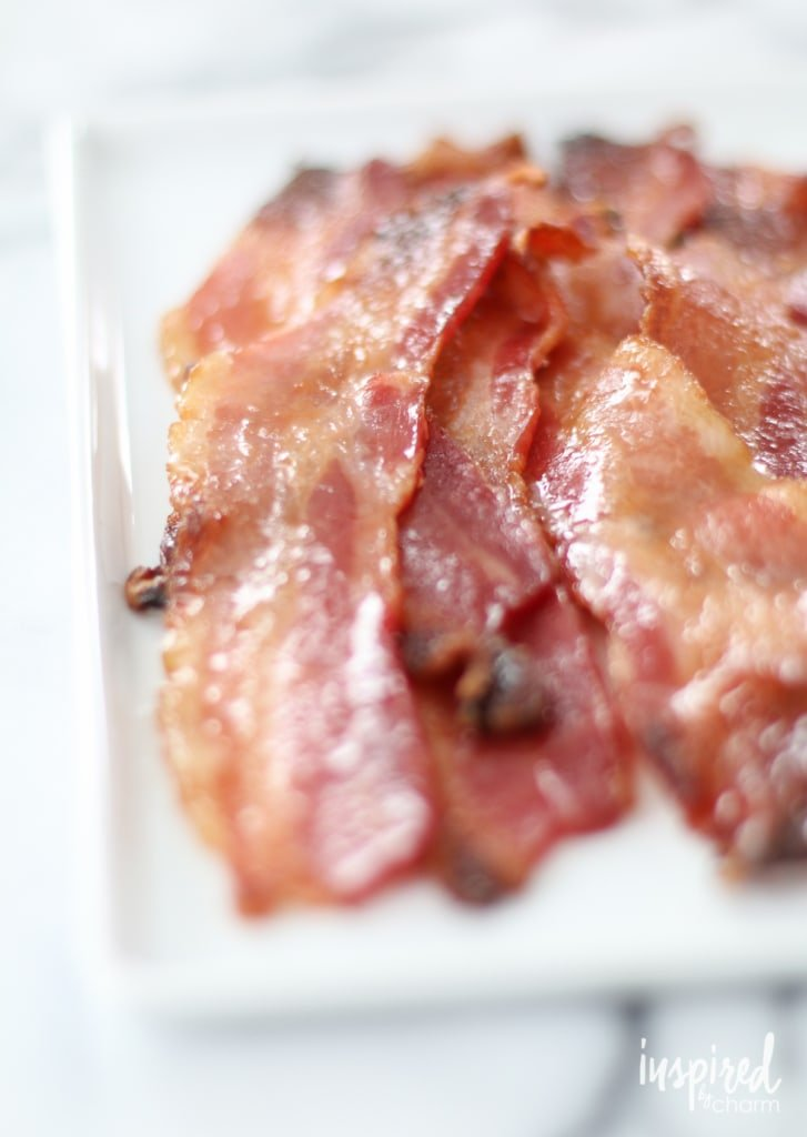 Brown Sugar Bacon | inspiredbycharm.com #IBCbreakfastweek