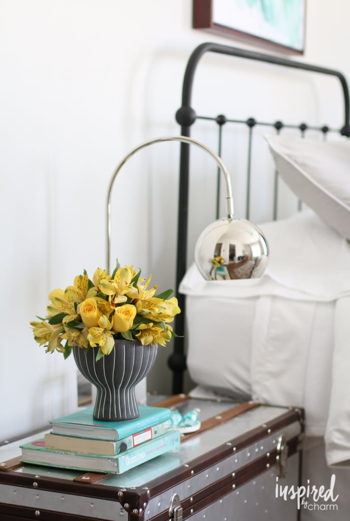 Guest Room Ready | How to Create the Ultimate Guest Bedroom with inspiredbycharm.com