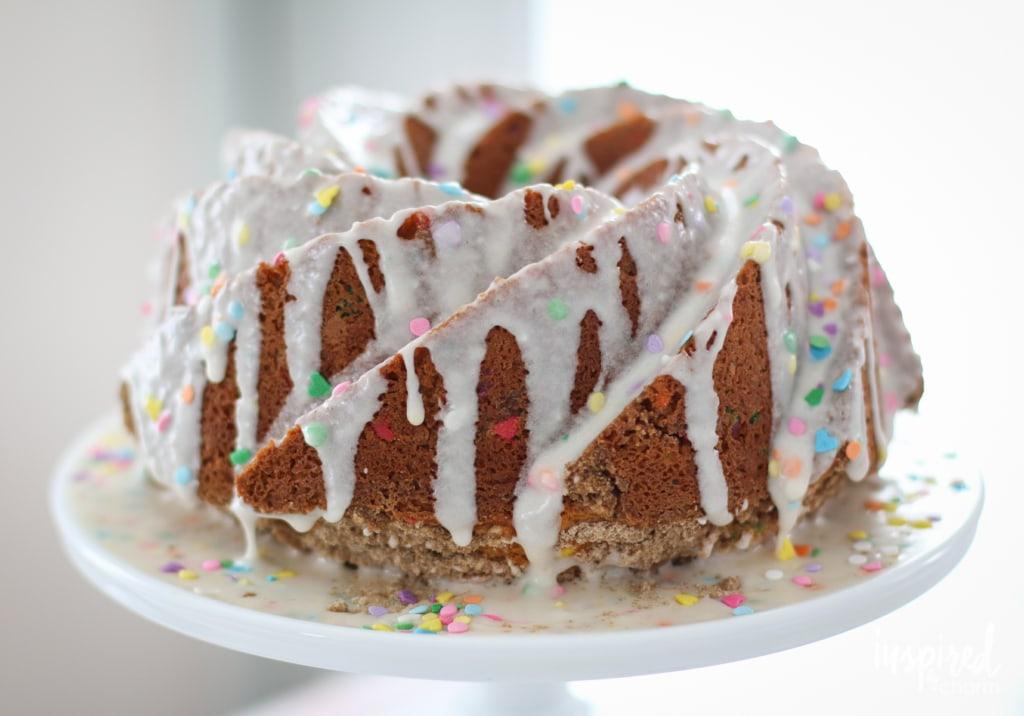 Funfetti Coffee Cake | inspiredbycharm.com