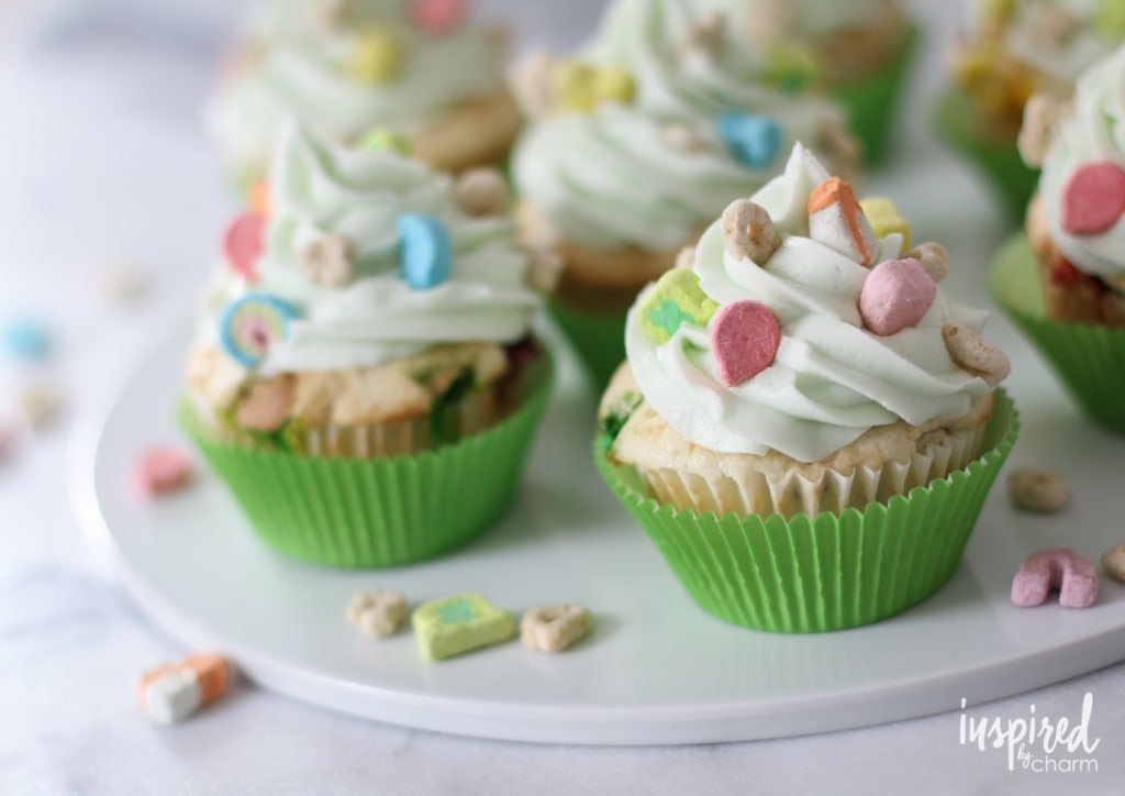 lucky charms cupcake recipe