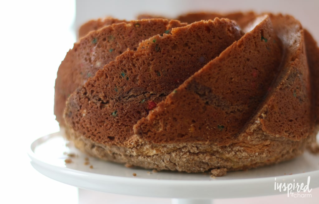 Funfetti Coffee Cake | inspiredbycharm.com