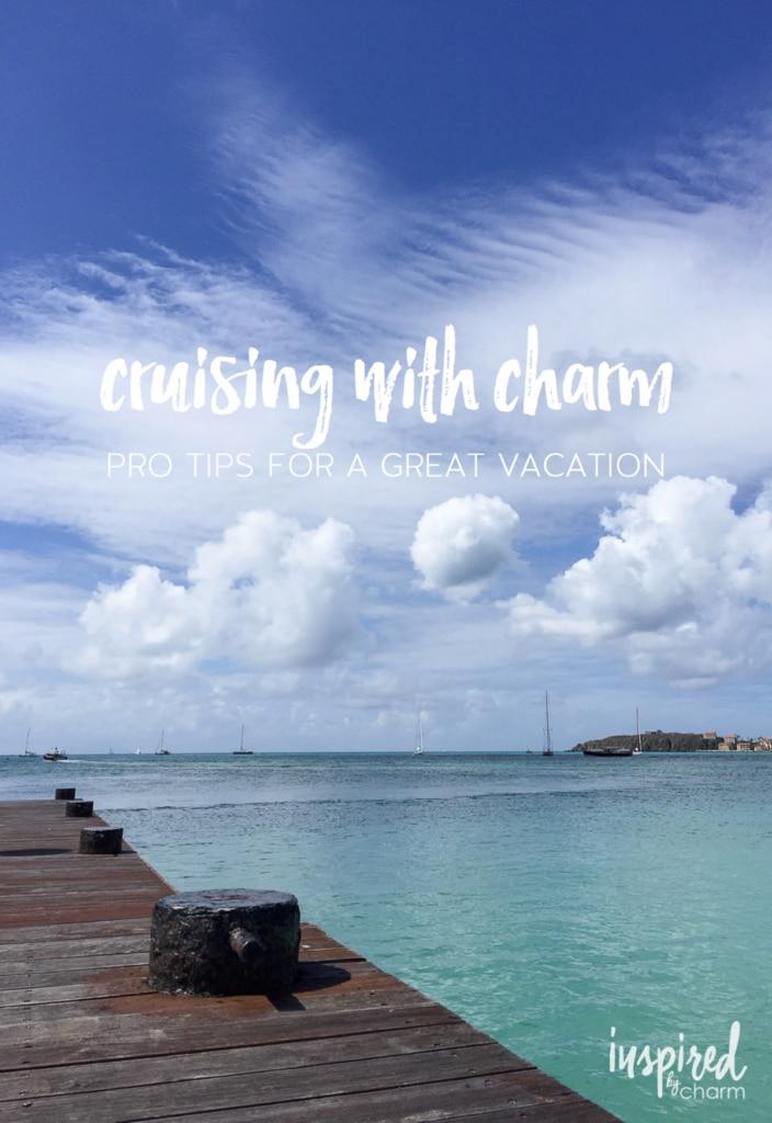Cruising with Charm | inspiredbycharm.com