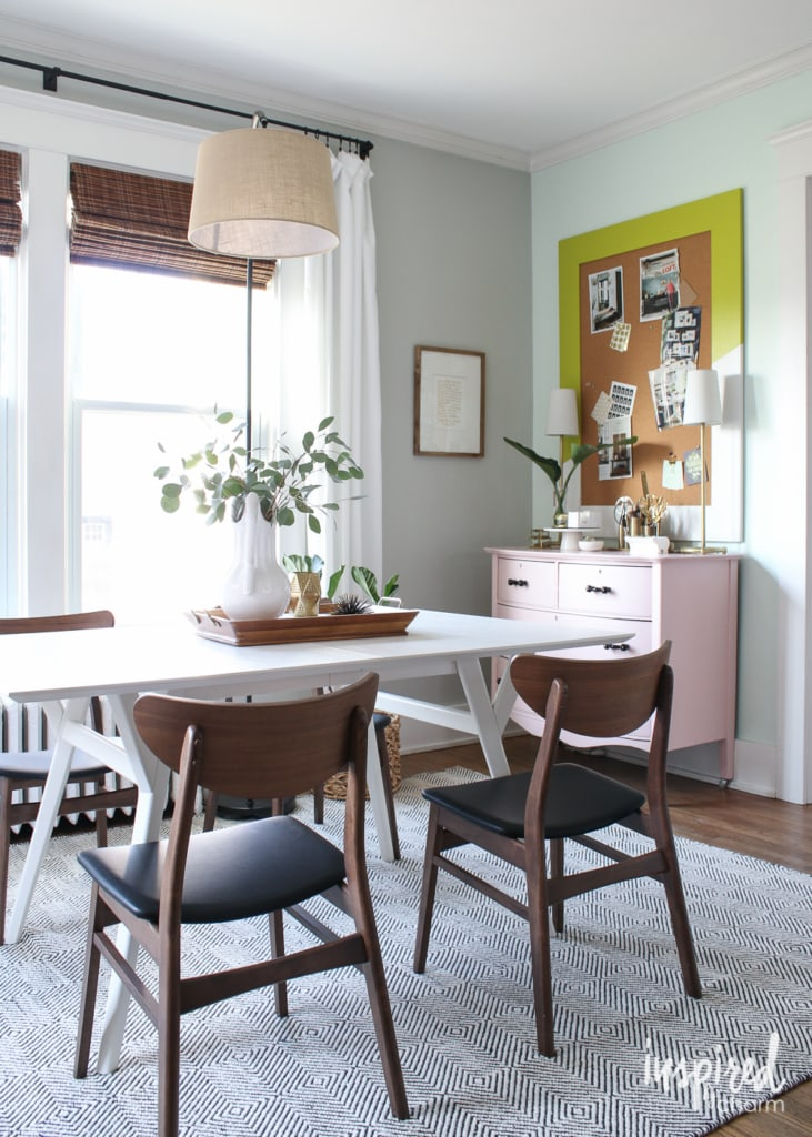 Spring Office | inspiredbycharm.com