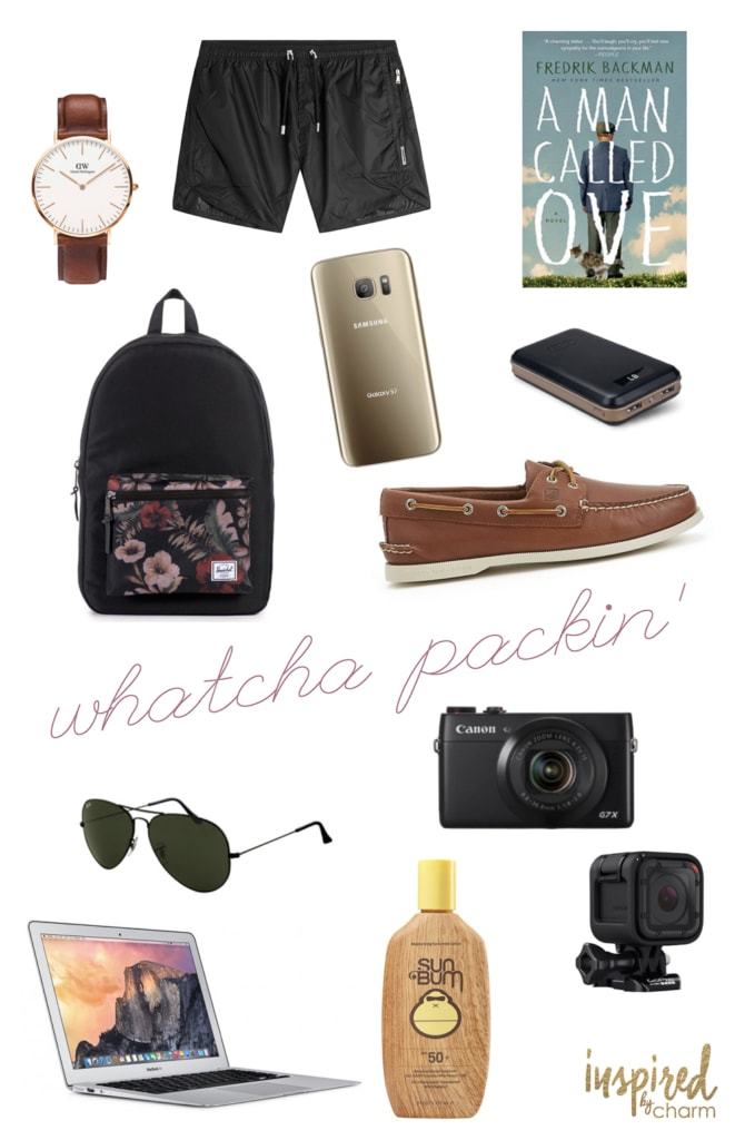 Whatcha Packin #2 | inspiredbycharm.com