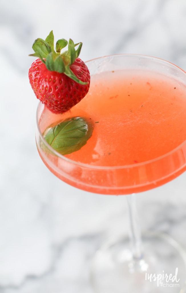 Fruit Infused Cocktails | inspiredbycharm.com