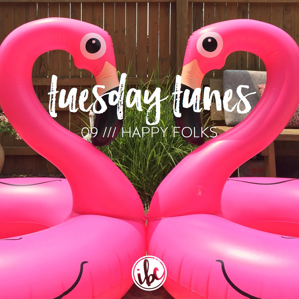Tuesday Tunes / 09 - Happy Folks | inspiredbycharm.com