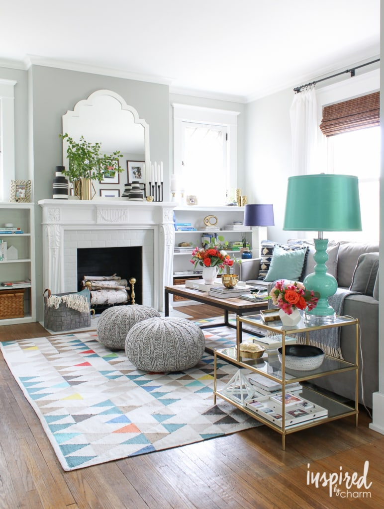 Inspired by Charm Summer Home Tour 2016 | inspiredbycharm.com