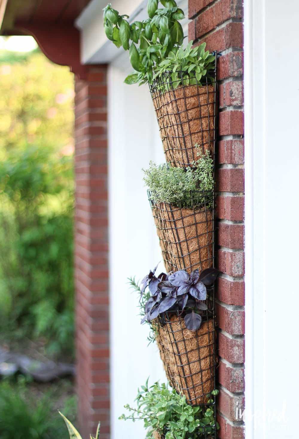 diy vertical herb garden DIY Projects Ideas