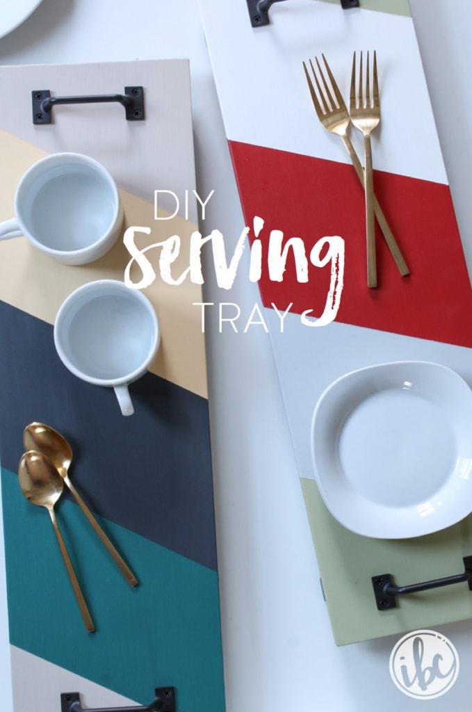 DIY Serving Tray | inspiredbycharm.com