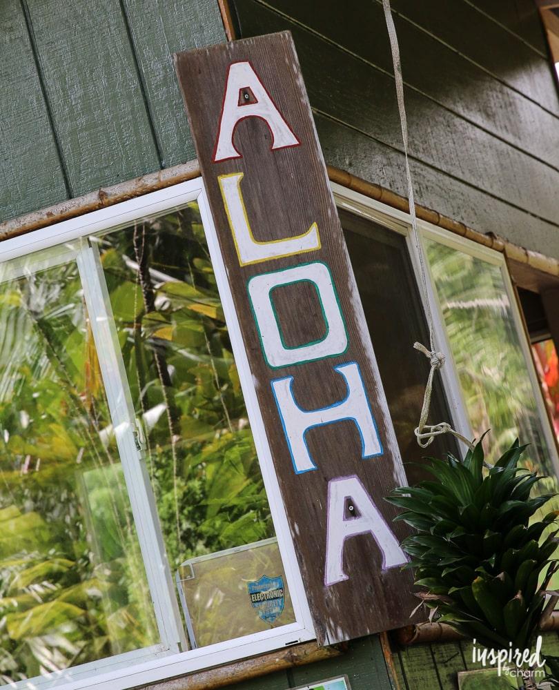 Aloha! | inspiredbycharm.com