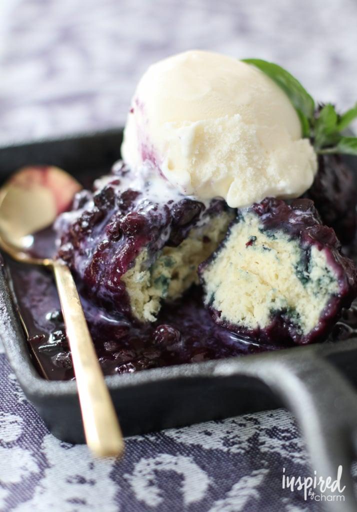 Wild Blueberry Grunt #LiveFromTheHive | inspiredbycharm.com