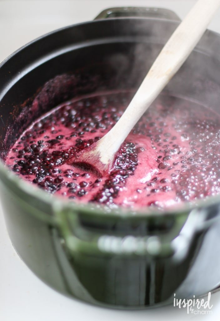 Wild Blueberry Grunt #LiveFromTheHive | inspiredbycharm.com