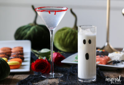 halloween cocktails two ways