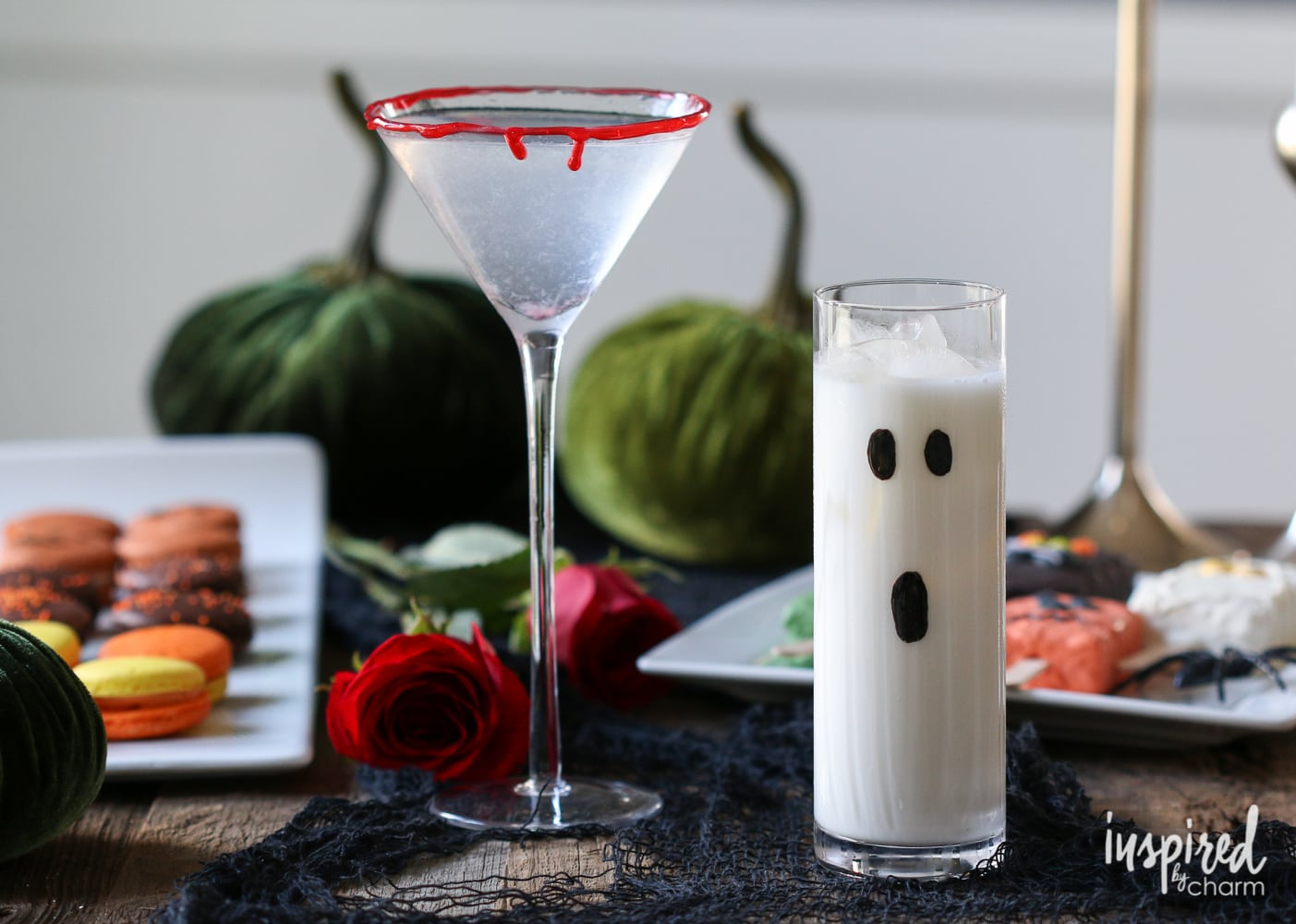 halloween cocktails - two ways