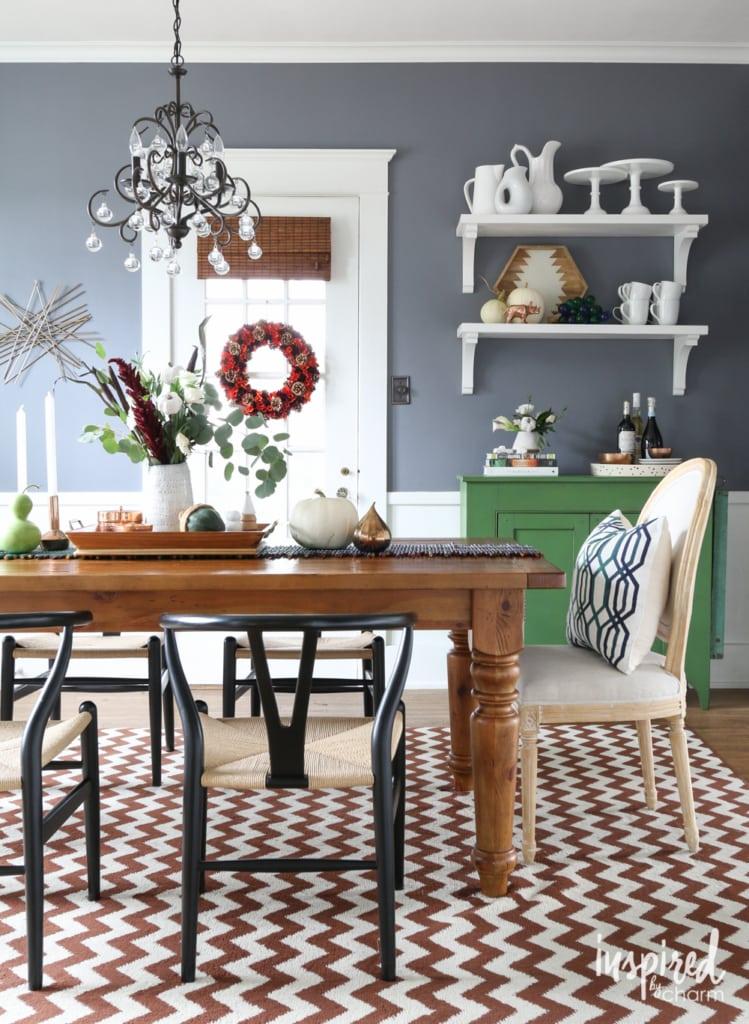 Six Ideas for Stylish Fall Decor | inspiredbycharm.com