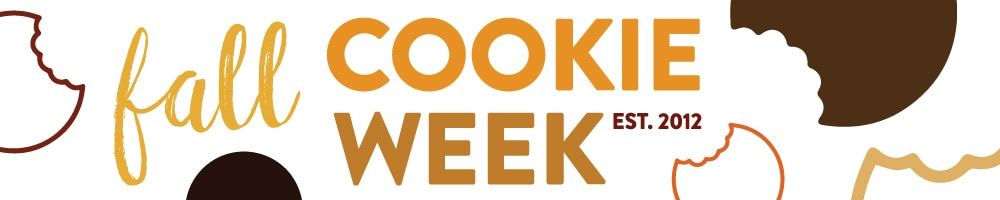 Fall Cookie Week 2016 | inspiredbycharm.com