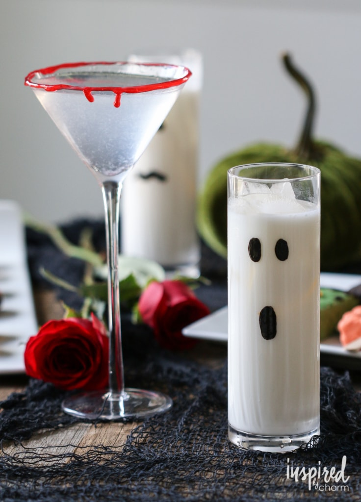 Halloween Cocktails: 2 Ways | inspiredbycharm.com
