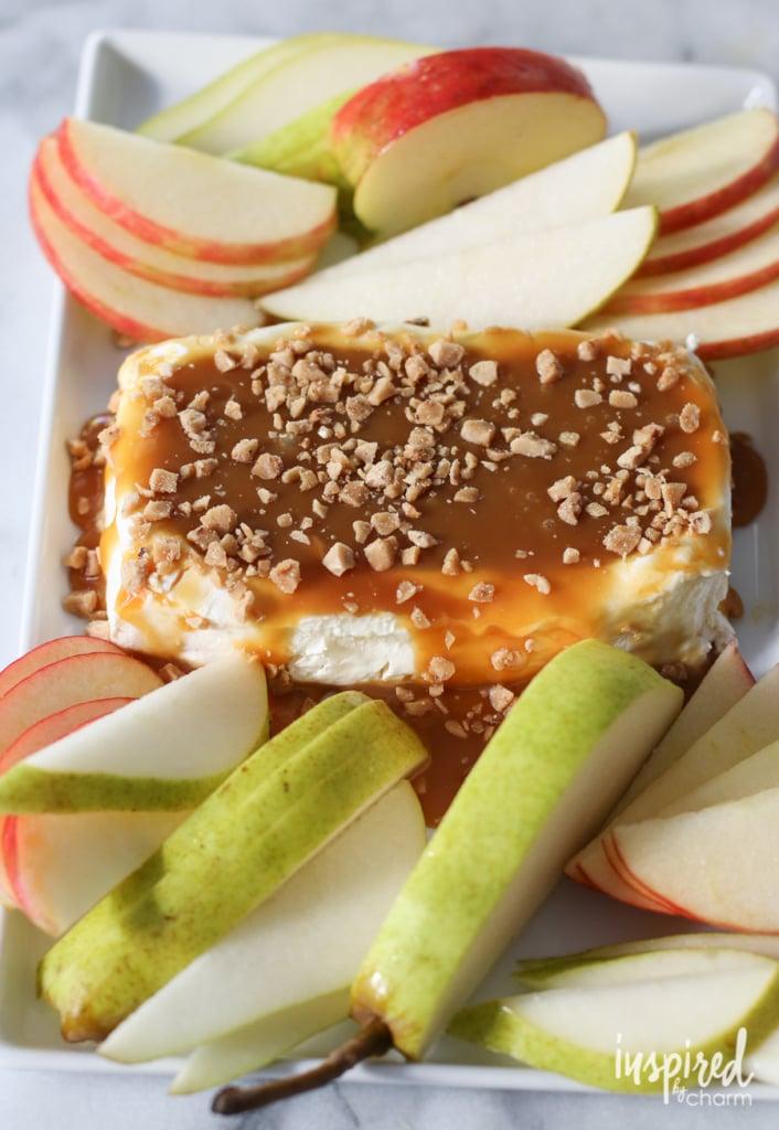 Caramel Apple Cream Cheese Spread | Inspired by Charm | Bloglovin'