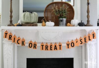 DIY Tag Banner | inspiredbycharm.com