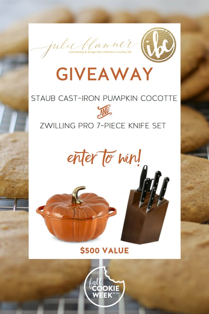 Fall Cookie Week Giveaway | inspiredbycharm.com