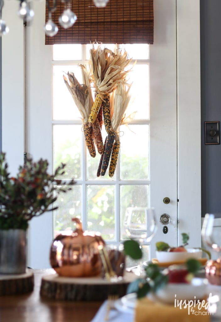 Six Ideas for Stylish Fall Decor | inspiredbycharm.com
