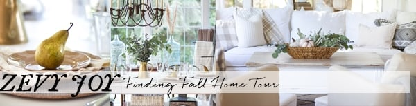 Finding Fall Home Tour | inspiredbycharm.com