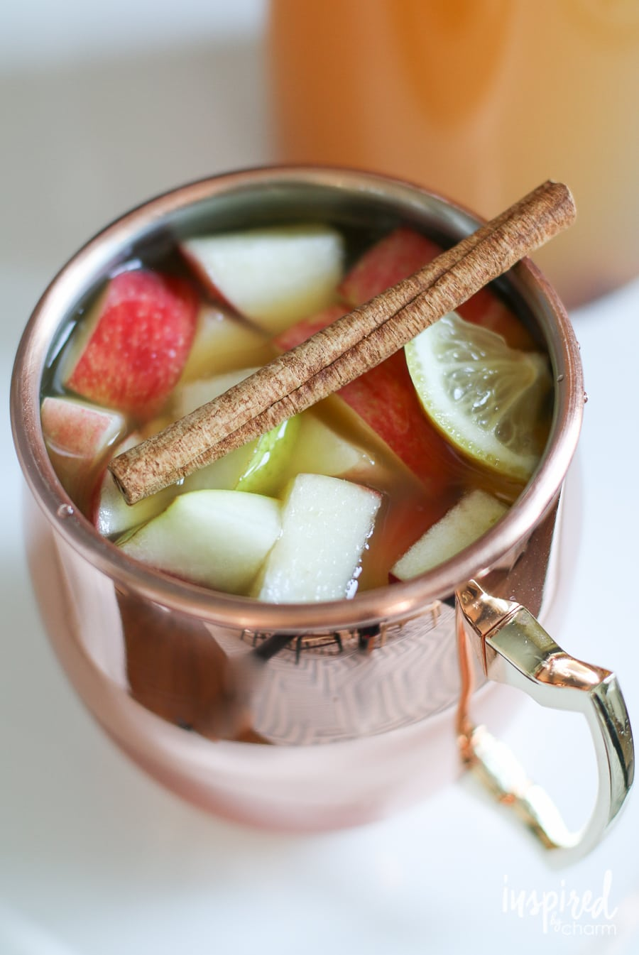 Apple Pie Sangria | inspiredbycharm.com