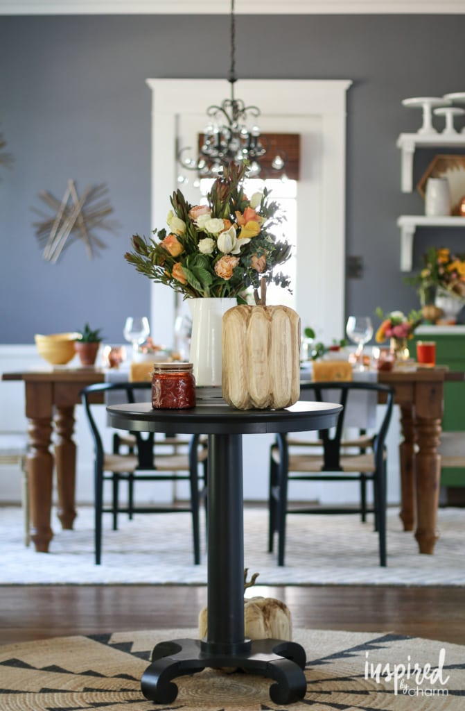 Fall Entertaining-Around-My-House Tour | inspiredbycharm.com