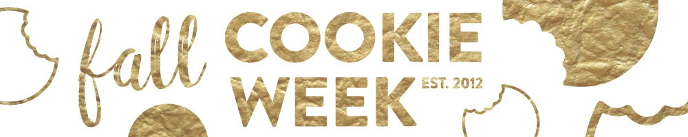 Fall Cookie Week 2016   inspiredbycharm.com