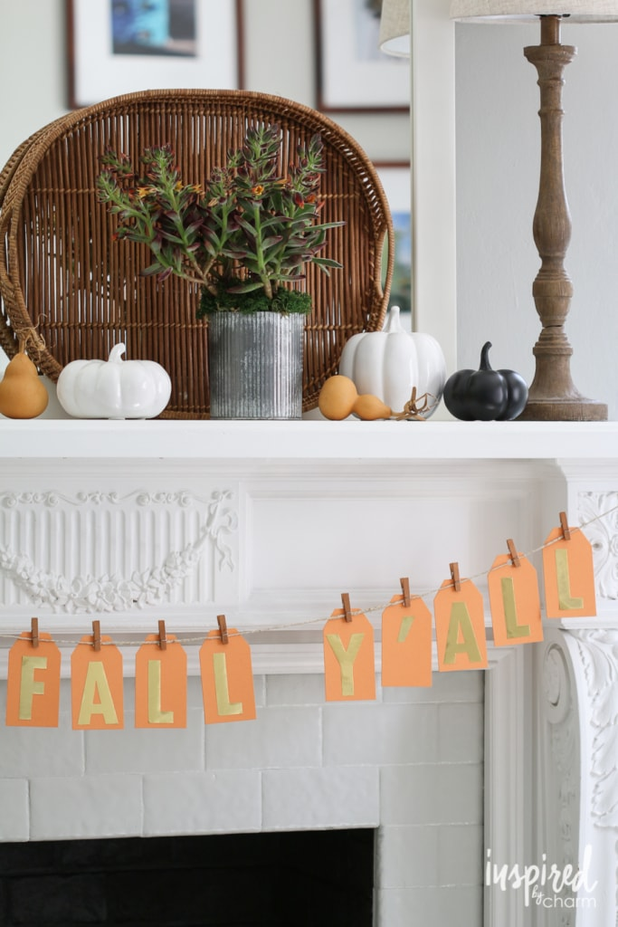 Fall Home Tour | inspiredbycharm.com