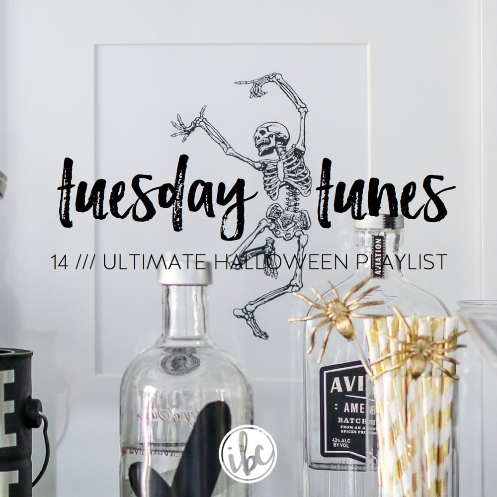 Tuesday Tunes 14 Ultimate Halloween Playlist | inspiredbycharm.com